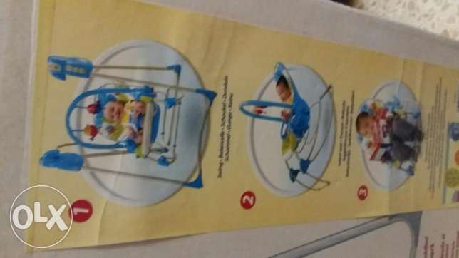 Fisher price swinging rocker 3 en 1