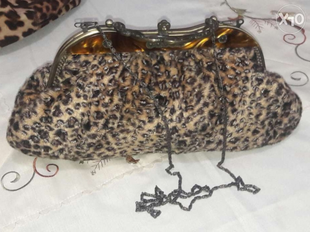 Tiger handbag small with iron hold