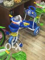 Bike baby chair and toy