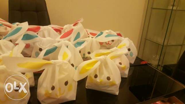 Chocolate Easter bag