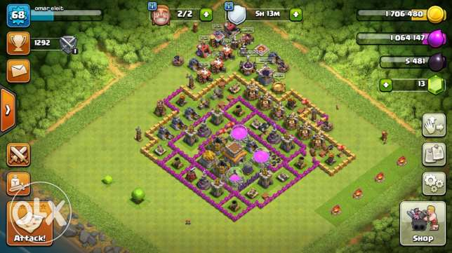 clash of clan bas