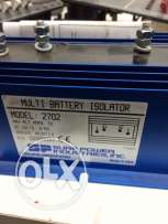 new battery isolator