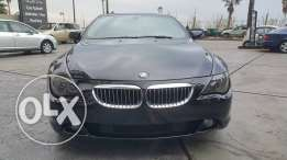 BMW 645//2005 Black Sport Package//Fully loaded New tiers//No accident