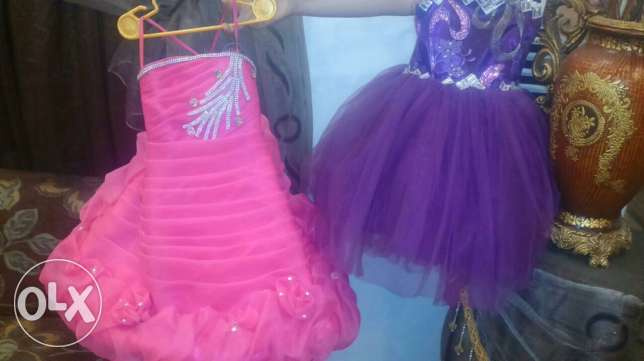 2 amazing dress for cute girl 2 for 40$ only برج البراجنة -  1