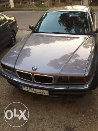 Bmw 740i 1998 super clean