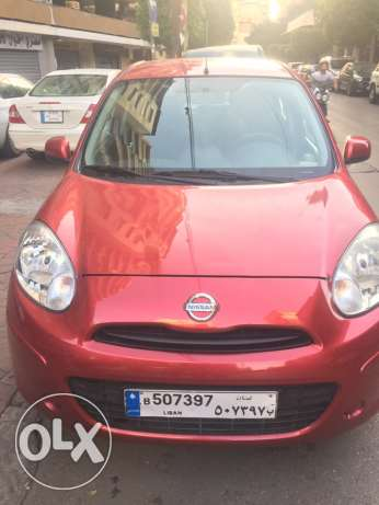 Red Nissan Micra for Sale with Low Mileage