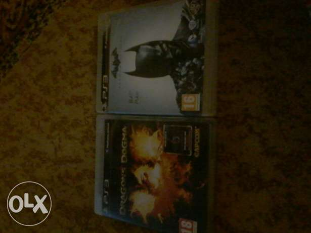 CD barman arkham origins+(free) CD dragons dogma