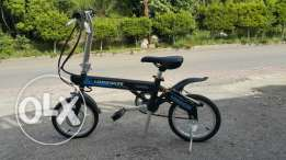 Bycicle longwise electric