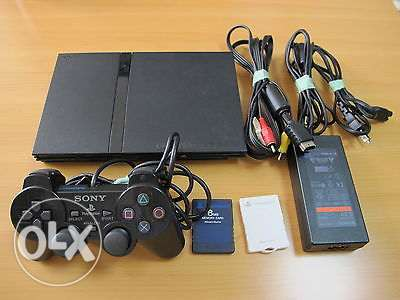 playstation 2 slim + accessories