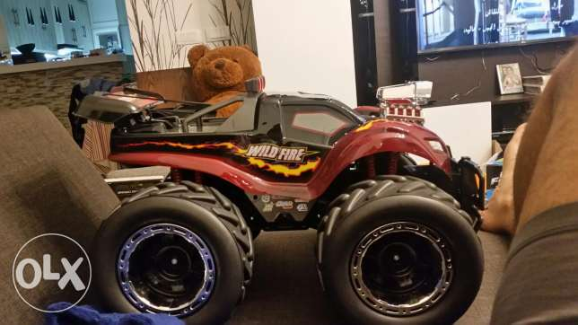 Big Wildfire monster Remote Control truck 4x4 offroad capability