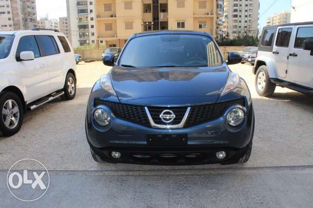 Juke SV model2011 dark blue navigation rear camera new tires