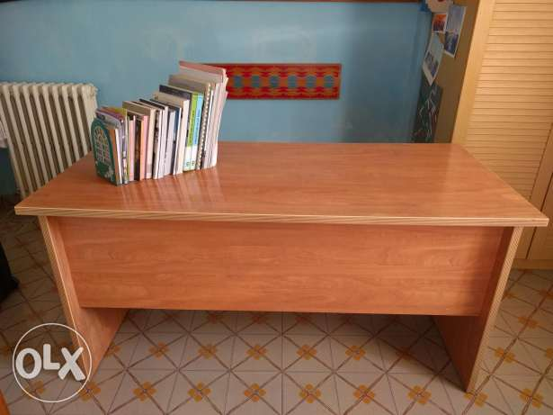 Wooden desk , beautiful and simple design