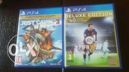 Just Cause 3&Fifa16 Deluxe Edition