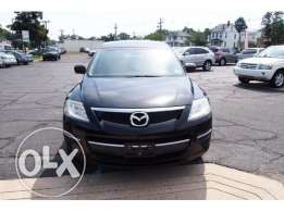Mazda cx9 mod 2009 black leather black clean car no accident
