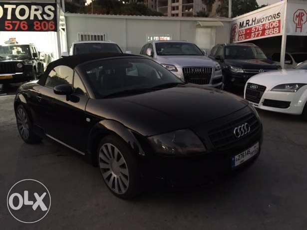 Audi TT 2001 Black Convertible in Good Condition! بوشرية -  1