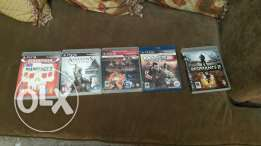 5 cds for ps3