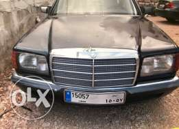 mercedes 500, 1982 model with special number