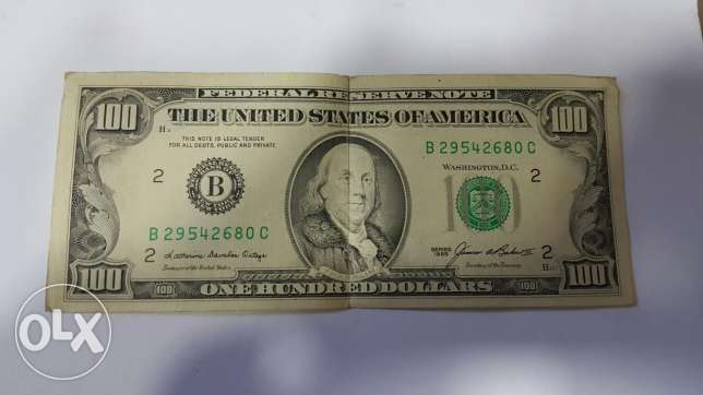 100$ old