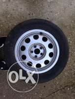 4 Audi A3 rims and tires