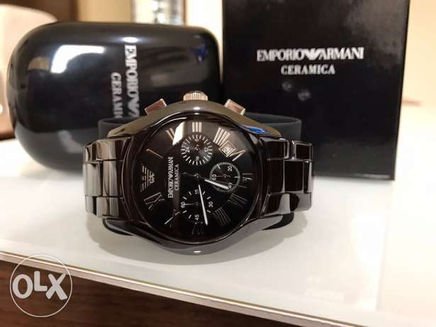 Genuine smoking black Emporio Ceramica (490 € from duty free)