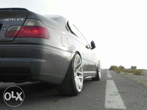 For sale bmw e46 rear bumper m3 without diffuser المتن -  3