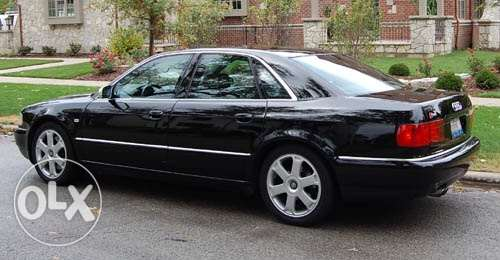 audi a8 and plate number for sale