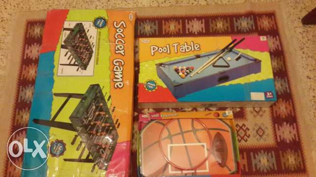 Three intertaining outdoor toys. In good condition
