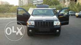 Jeep Grand Cherokee 2008 black and black