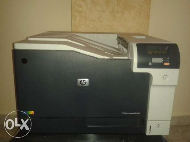 HP LaserJet CLJ CP5225DN printer - colored A4/A3