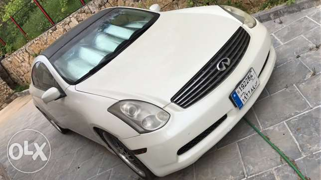 Infiniti G35 coupe 2005 - Gulf Specs / one owner