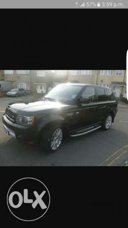 Range rover sport supercharge