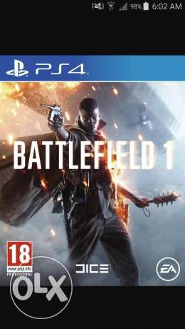 Battlefield 1 for sale like new arabic 50 alf loc tripoli