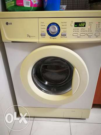 Washer LG + Dryer Campomatic