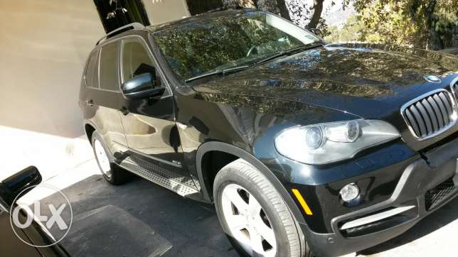 Newly arrived Black on black 2008 x5 low mileage sport package كسروان -  2