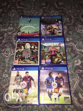 PS4 Games lal be3 انطلياس -  1