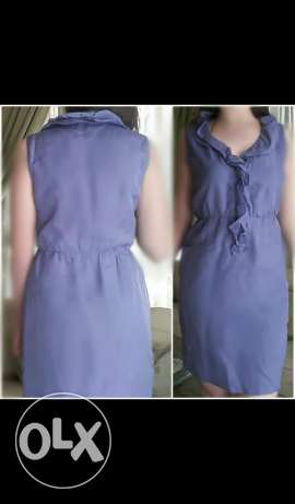 Puple short dress