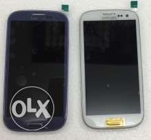 lcd samsung s3 blue & white color.