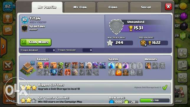 Clash of clans th8