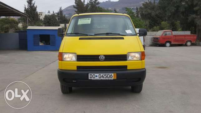 Volkswagen Transporter Maxi 2.5 model 2002 شاسي طويل expo safra