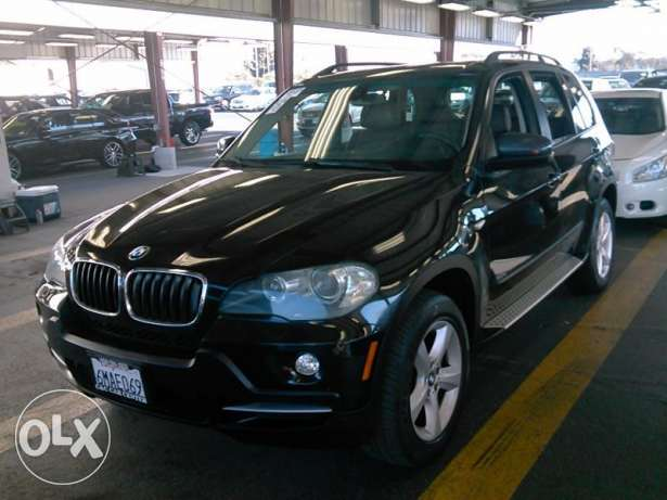 2008 BMW X5 3.0 SI Black/Brown Excellent Shape CA Clean Carfax- Sport