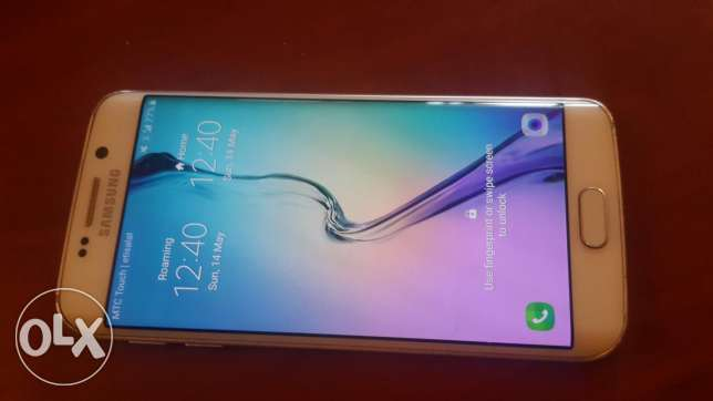 Sumsung S6 Edge white color very good condition negotiable price