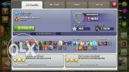clash of clans for sell aw dekich