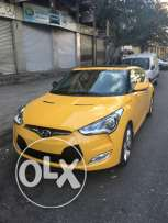 hyunadi veloster luxury 2013 black leather 43000km