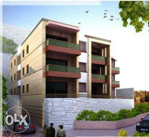 New delux Appartment in maarab +terrace75m