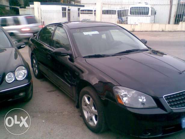 05 Nissan ALTIMA SL fully loaded 4 cyl المتن -  6