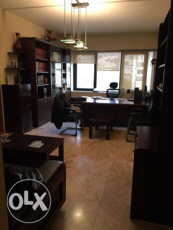 office for rent at sin el fil, Grey center.