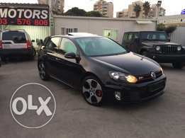 VW Golf VI GTI 2012 Black Fully Loaded in Excellent Condition!