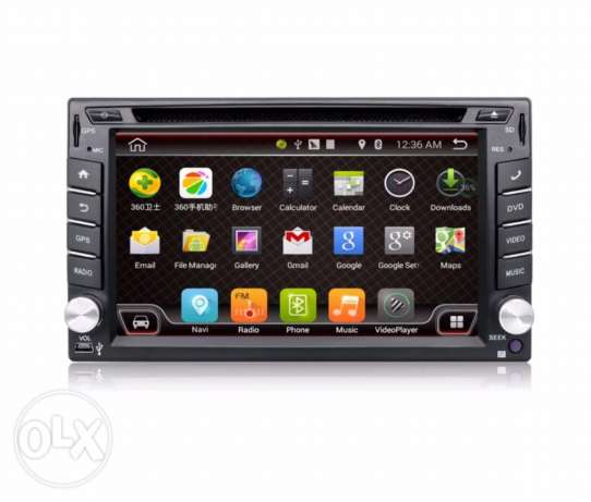 lcd android radio car + rear camera بعبدا -  1