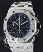 Limited audemars piguet offshore royal oak blue edition