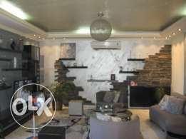 160 sqm decorated apartment for sale in Aylout Mansourieh